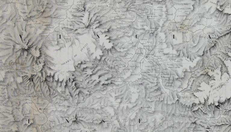 Carta Geométrica da Galiza, de D. Fontám (seçom 11)